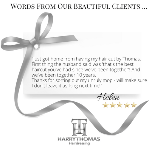 Harry Thomas Hairdressers client testimonials(2)